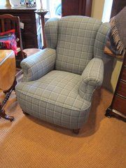 Comfortable Victorian Upholstered Armchair, This Looks Dead Comfy ! Pictures