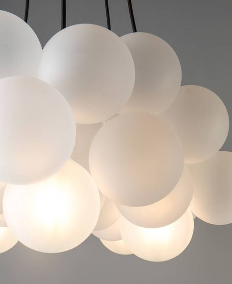 Frosted Bubble Chandelier Ceiling Light
