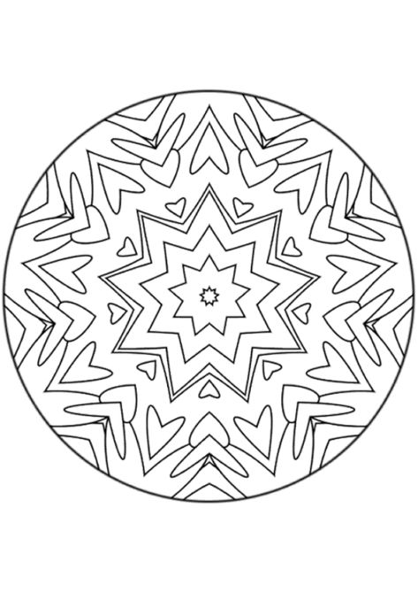 Coloriage Mandala Coloriage Mandala Mandala A Colorier Mandala