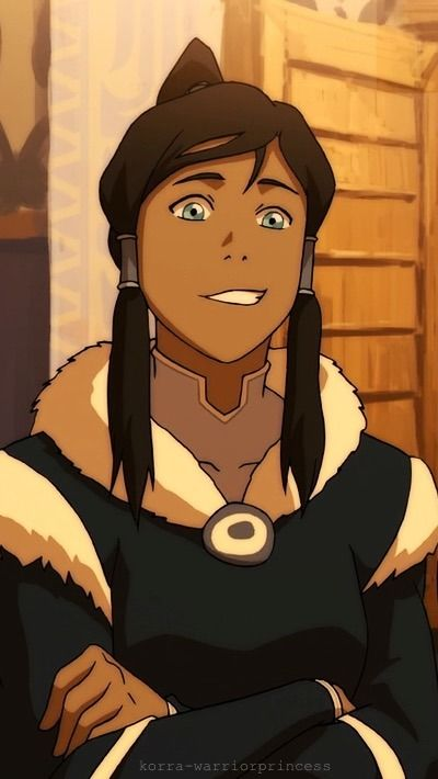 Deal With It Korra S Crooked Grin Iphone Wallpapers 400x710