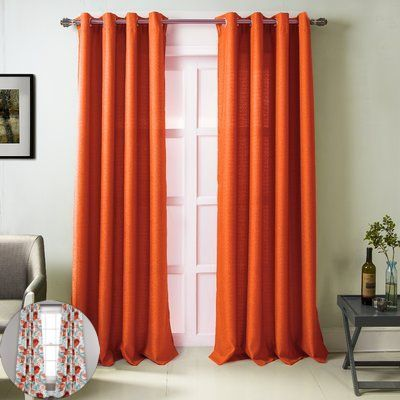 Curtain Color For Pale Yellow Walls And Curtain Color To Match Grey Walls Simple Ideas For Kitchen In 2020 Orange Curtains Living Room Orange Curtains Panel Curtains