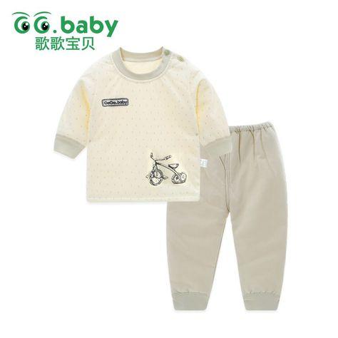 2d970b81d99c Wholesale Winter Warm 2pcs set Long Sleeve Baby Girl Set Clothes ...