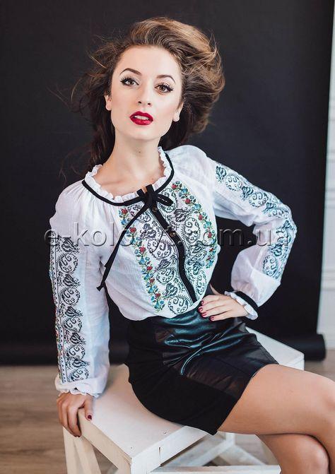 Жіноча вишиванка ЛАСКАВА (мод.2334) в інтернет-магазині вишитого одягу