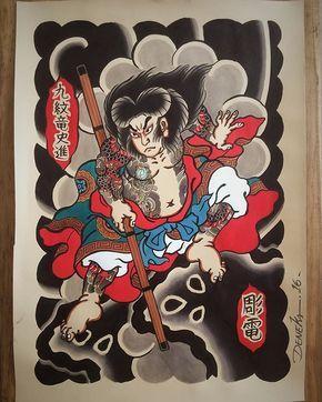 tattooflash #kumonryu #painting #pintura...