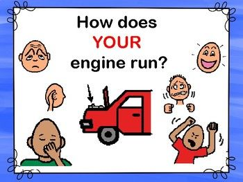 Social Story How Does Your Engine Run Which Explores Low Just