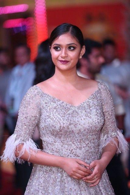 Keerthy Suresh At SIIMA Awards 2018 Function   Celeb Star