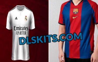 El Clasico Dream League Soccer Kits 2019 Barcelona Vs Real Madrid