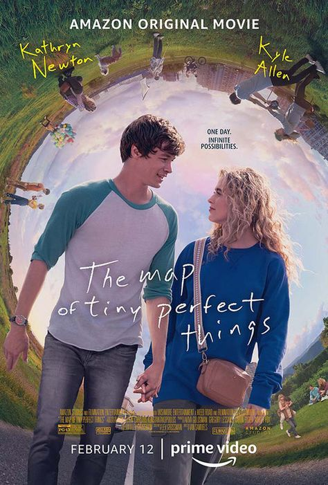 Affiche du film The Map Of Tiny Perfect Things