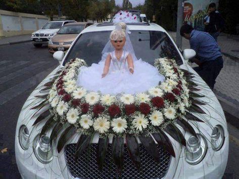 Wedding Trends, Wedding Designs, Wedding Humor, Wedding Day, Bridal Car, Church Wedding Decorations, Latest Design Trends, Creative Decor, Wedding Colors