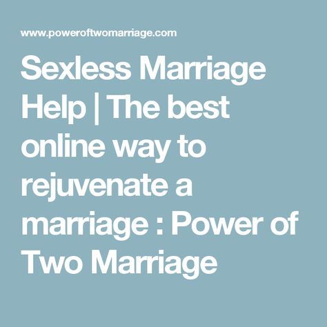 the power of two marriage