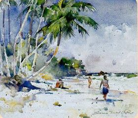 Amazing Watercolor Paintings By American Artist Charles Reid Watercolor Paintings Watercolor Artists Watercolor Landscape
