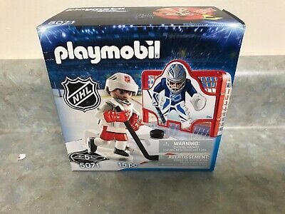 Playmobil Nhl Hockey Figure 5071 15 Pc Set Sports Action Shoot Lance Sports Nhl Hockey Nhl Hockey Arena