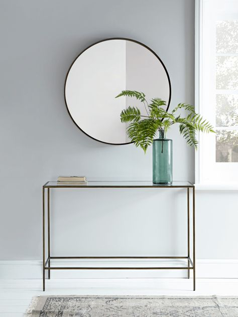 Villette Console Table Burnished Brass Small Console Tables Hallway Console Luxury Home Furniture