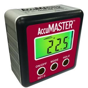 Calculated Industries Accumaster 2 In 1 Digital Angle Gauge 7434 Mems Technology Digital Gauges