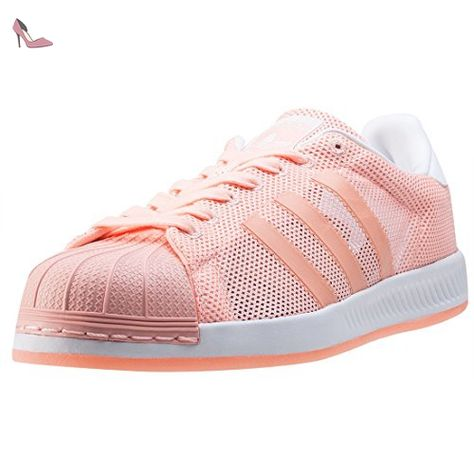 coupon codes later designer fashion adidas Superstar Bounce Hommes Baskets Coral - 9 UK ...