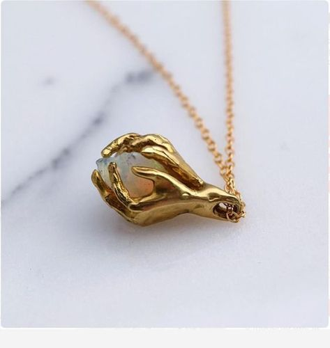 vintage inspired charm gold plated brass Lovebirds heart necklace kitsch jewellery