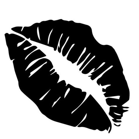 Lips Stencil   Kiss Stencil  Reusable Stencils  Ready to image 2