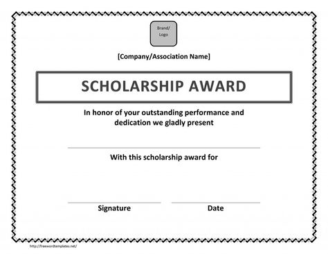 Scholarship Certificate For Students #scholarshiptemplate - medical certificate template
