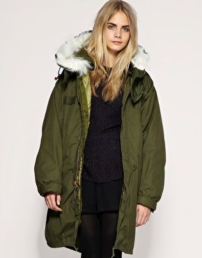 beta 穿 m65 parka | m65 women fishtail | Pinterest | Fishtail and ...