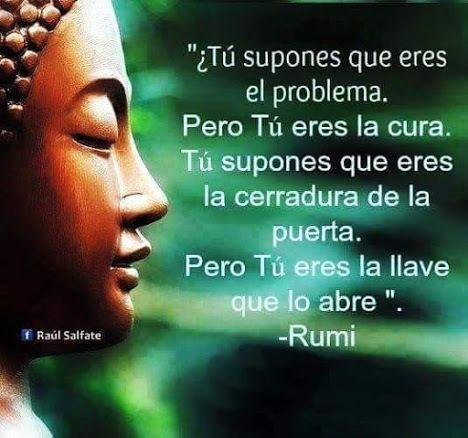 Resultado De Imagen De Rumi En Español Frases Yoga Frases