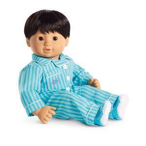 33ddd57cba00 Ruffled Polar Bear Pajamas for Dolls