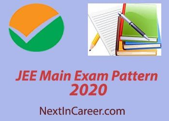 Jee Main Exam Pattern 2020 Changed Paper 1 2 New Marking Scheme With Images Marking Scheme Exam Question Paper