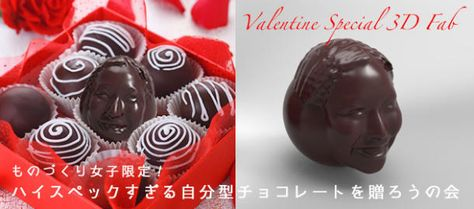 Best D Printed Chocolate Images On Pinterest Cakes Google - Delicious chocolates crafted japanese words texture