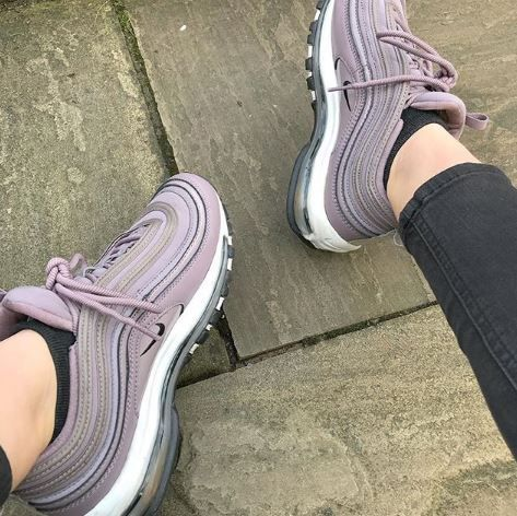 Nike Air Max 97 Trainers Taupe Grey