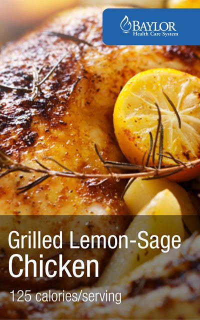 Healthy grilling recipe - Spice up your barbacue with this grilled chicken recipe [low calorie alternative] | Baylorhealth.com