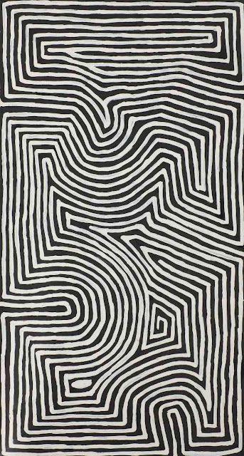 George Tjungurrayi (born c.1947) Australian Aboriginal Artist