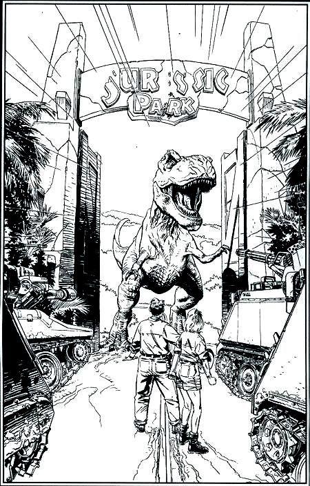 Malvorlagen Jurassic World News