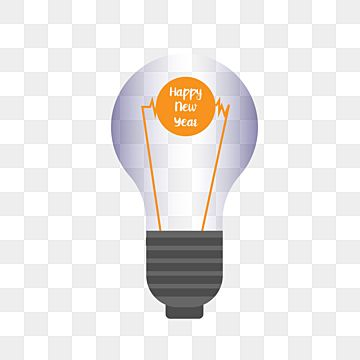 Happy New Year Bulb Png Christmas Png New Year Png Christmas Decoration Png Png And Vector With Transparent Background For Free Download Happy New Year Banner Happy New Christmas Ring Decoration