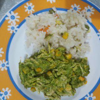 Pollo En Crema Verde