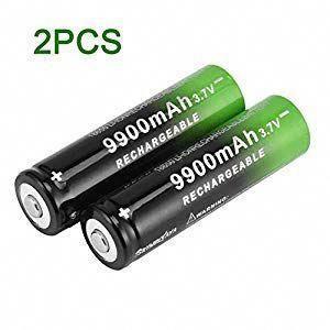 Cheekbone Skywolfaya 3 7v 18650 Lithium Batteries 9900mah Li Ion Rechargeable Battery Rechargeable Batteries Rechargeable Battery Charger Portable Battery Bank
