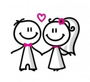 Congratulations On Your Wedding Clipart 65712 Clipartimage Com Clip Art Library Stick Figure Drawing Wedding Clipart