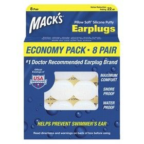 Target Mobile Expect More Pay Less Silicone Putty Soft Silicone Ear Plugs