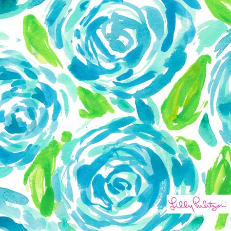 3a4713a543534c Lilly Pulitzer First Impression Print- new poolside blue color ...