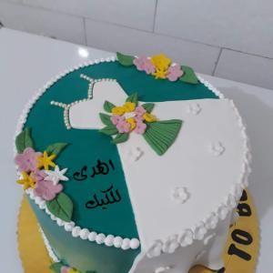 كيكة توديع العزوبيه Cake Baking Desserts