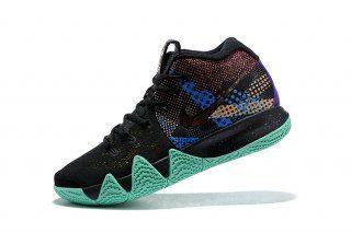 1d85896cd6d6 Comfortable Nike Kyrie 4 Black Sonic Yellow Purple Venom AV2594 001 Men s  Basketball Shoes