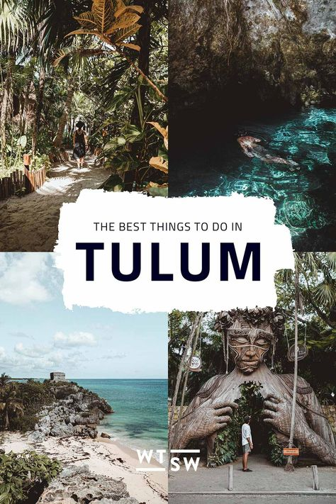12 things to do in Tulum, Mexico's trendy beach town Places To Travel, Travel Destinations, Places To Go, Travel Tips, Mexico Vacation Destinations, Cancun Vacation, Travel Guides, Honduras, Belize
