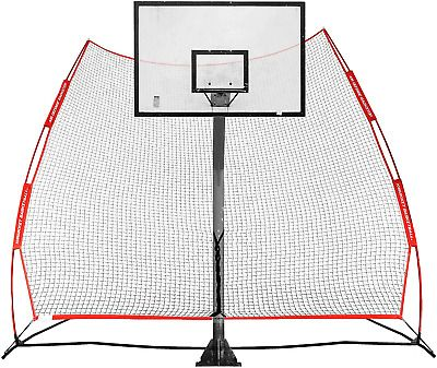 Details About Rukket Basketball Return Net Guard And Backstop Hoop Rebound Back Netting For In 2020 Rebounding Basketball Fun Sports