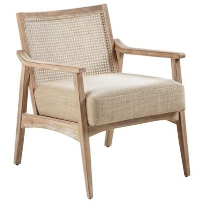 Add Trendy Design To Your Home With The Ink Ivy Kelly Furniture Collection Rubberwood Upholstered Chair The Lo Brown Accent Chair Accent Chairs Stylish Chairs