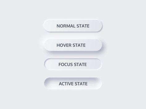 NordUI | iOS Designs - Neumorphic Buttons