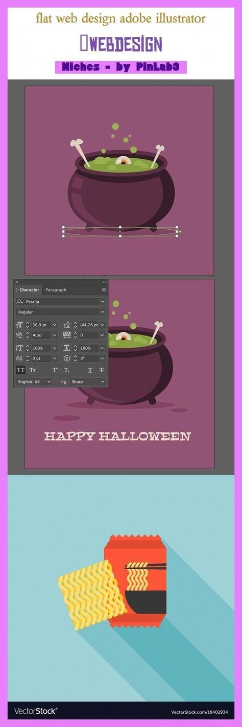 Flat web design adobe illustrator #design #adobe #illustrator flaches Webdesign ... - #adobe #design #flaches #illustrator - #FlatUi