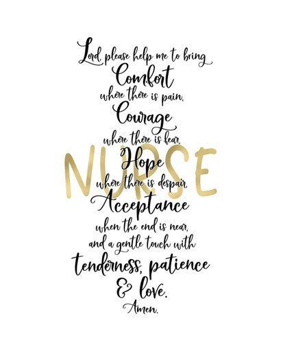 Nurse Prayer By Tara Moss Nurses Prayer Nurses Week Quotes Nurse Quotes Inspirational