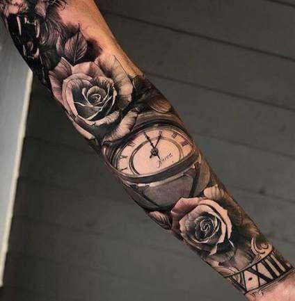 Arm uhr tattoo frau Phönix Tattoo