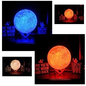 3d Moon Light Lamp Moon Lamp Enchanting Custom Glowing Led Levitating Luna Magical With Images Best Gifts Celestial Bodies Celestial