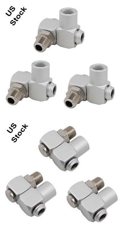 3 Industrial Aluminum Air 360 Swivel Fitting Connectors Hose Tool 1 4npt Coupler 711931260301 Ebay Fittings Accessories Aluminum