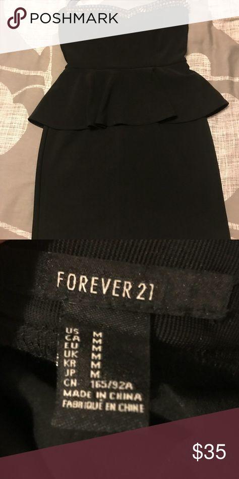 LBD Body-Con Body-Con Little Black Dress! Perfect for semi-formal events. Forever 21 Dresses Mini