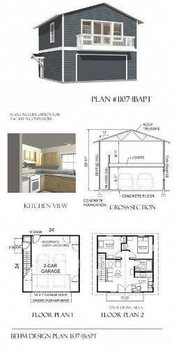 A Comprehensive Overview On Home Decoration In 2020 Garage Apartment Plans Garage Plans